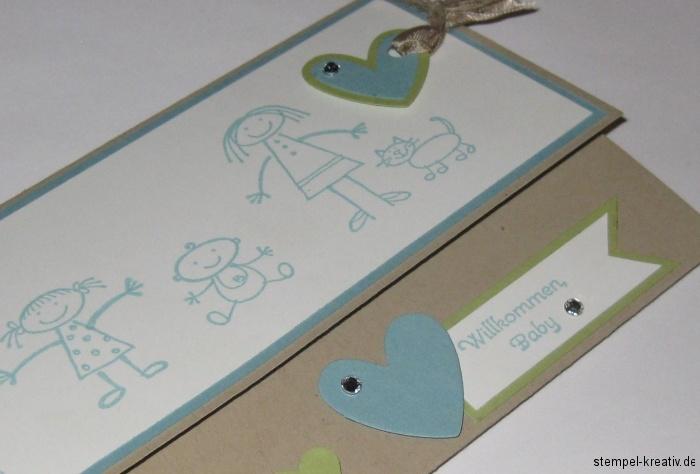 Willkommen Baby - Babykarten