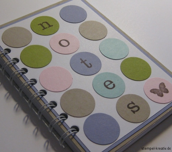Stampin up Notizbuch