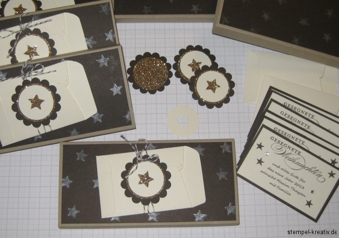 Lindt Schokoladenverpackung Stampin up