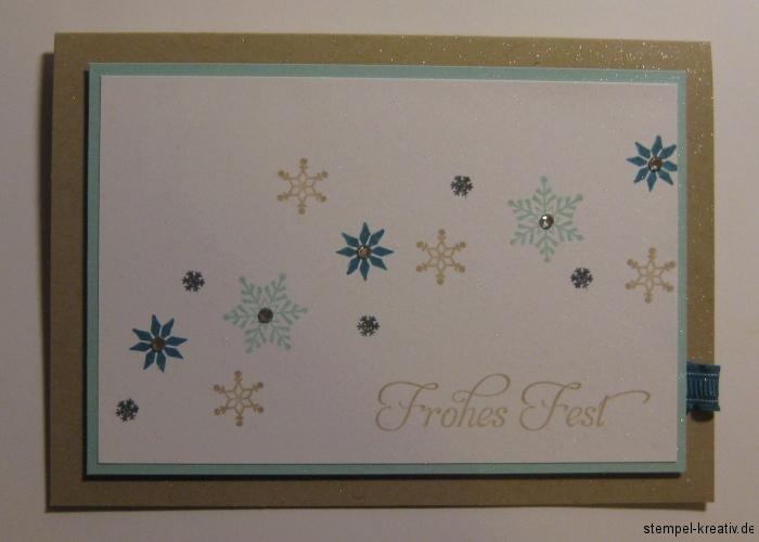 Frohes Fest Weihnachtskarte