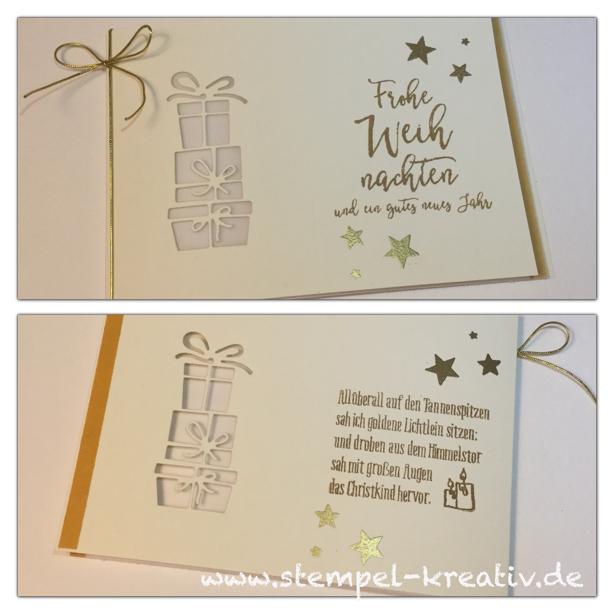 Weihnachts-Blog-Hop - Weihnachtskarten