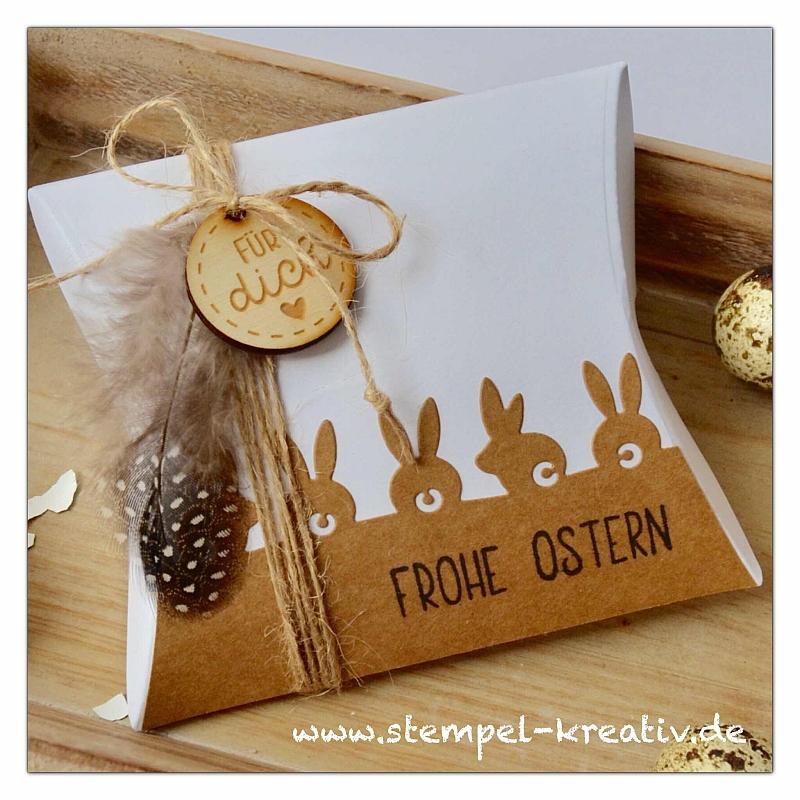 Puschelhasen - Osterkarten