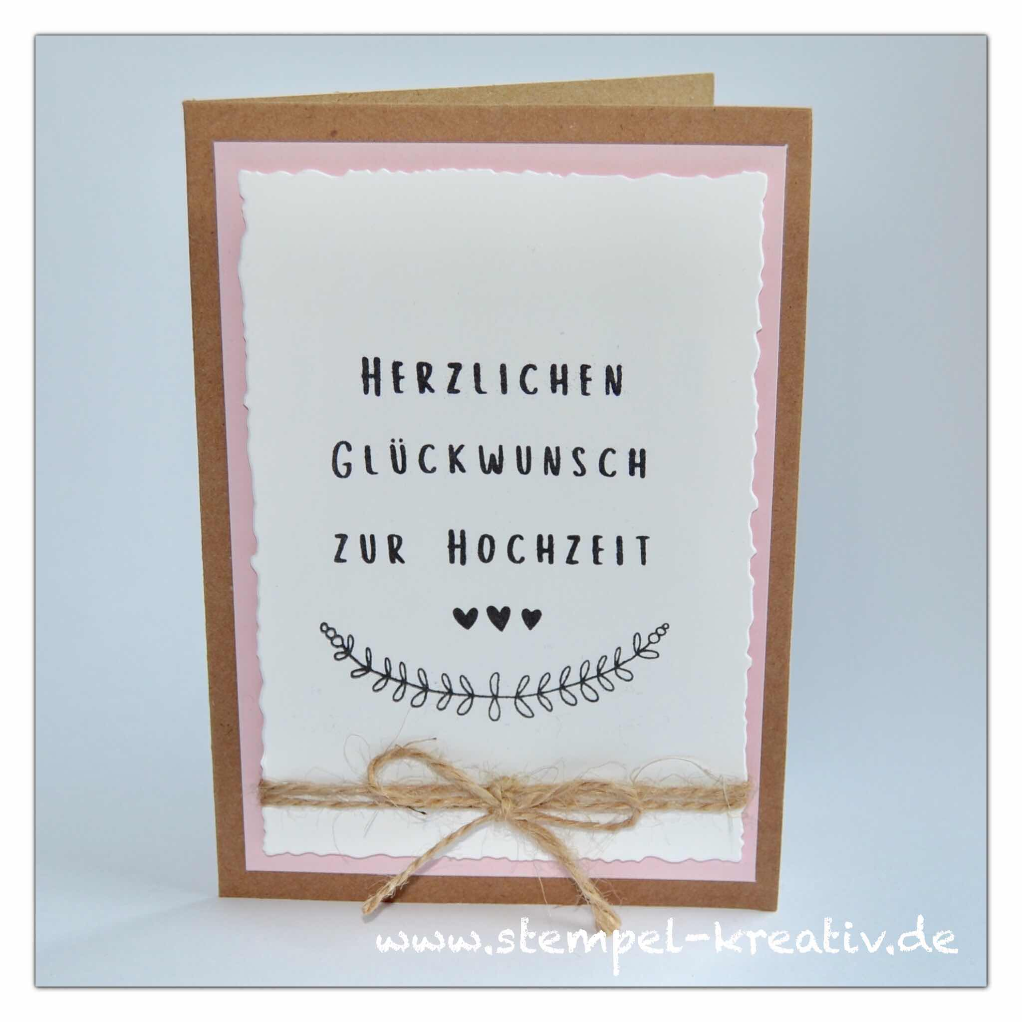 Glückwunschkarte Hochzeitskarte Boho Hochzeit