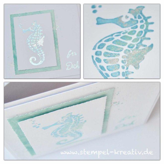 Seepferdchen - Glückwunschkarten